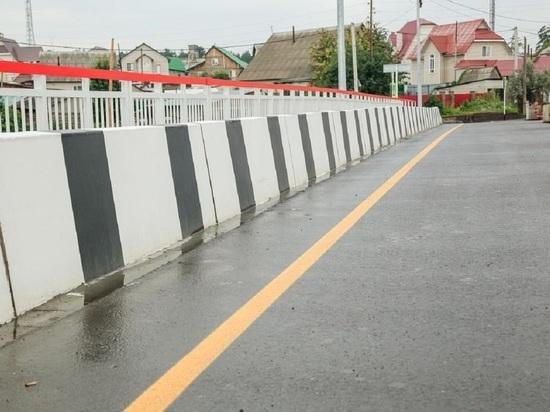 В Барнауле досрочно открыли мост через реку Власиха