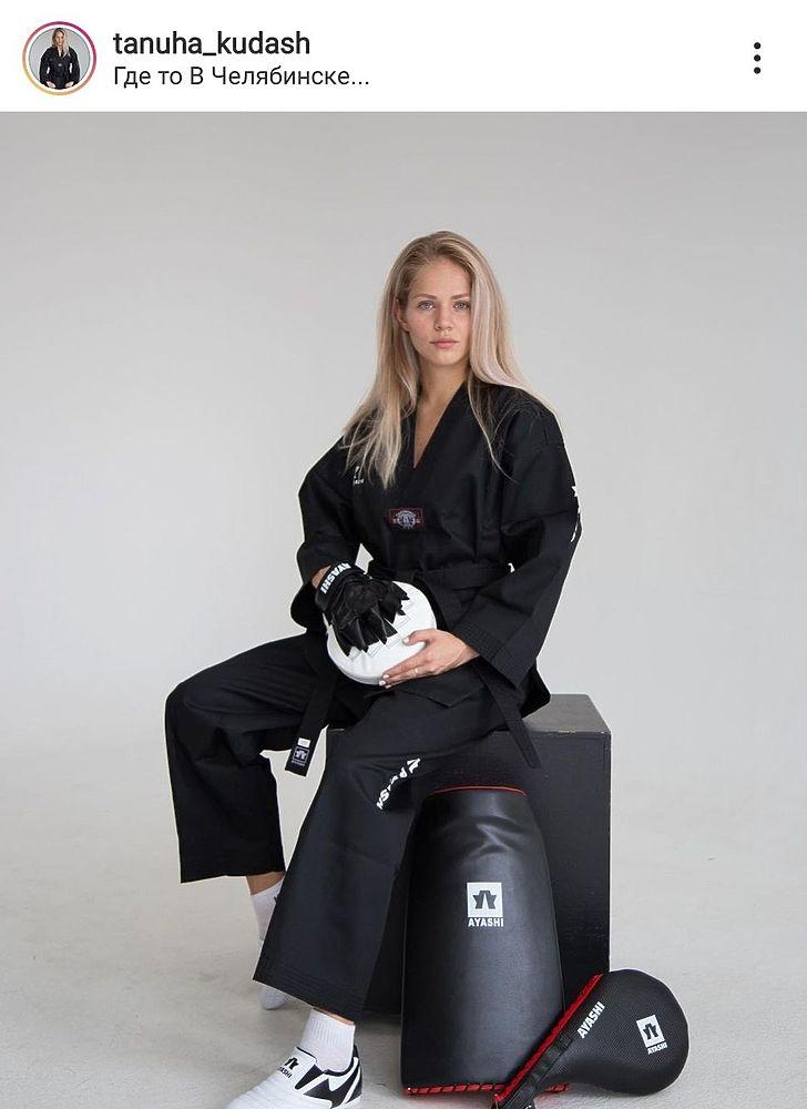 Блондинка из России выиграла медаль Токио в тхэквондо: фото Татьяны Мининой