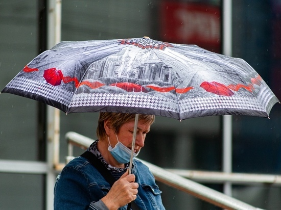 Циклон принёс в Томск прохладу и дожди с 26 июля