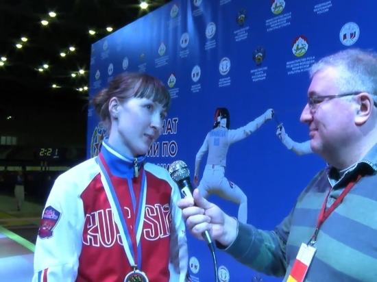 Рапиристка Коробейникова принесла России пятую медаль ОИ в Токио