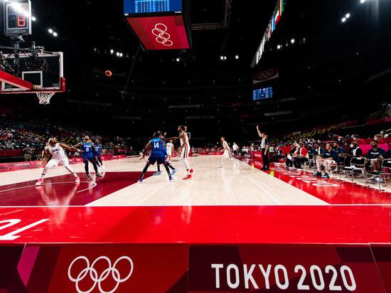 Французские баскетболисты обыграли США на Олимпиаде