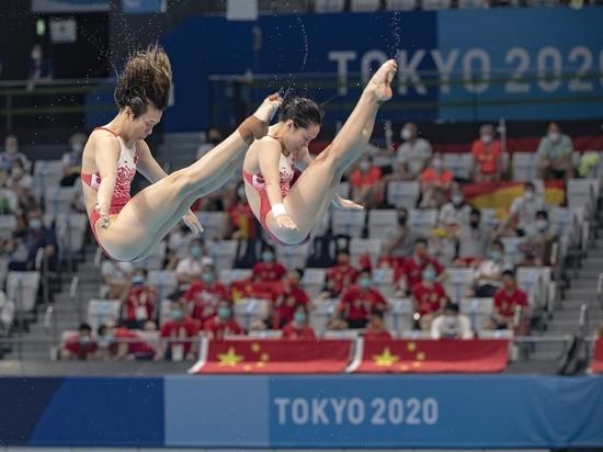 Олимпийское золото за прыжки в воду досталось Китаю