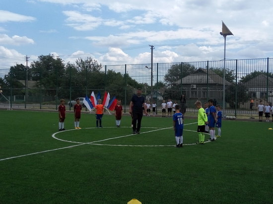 Новая многофункциональная спортивная площадка появилась в Джанкое