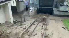 Проливные дожди в Швейцарии привели к наводнению в двух кантонах