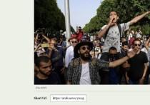 Сотни протестующих собрались в столице Туниса и других городах в воскресенье, 25 июля,требуя отставки правительства после всплеска случаев COVID-19, который усугубил экономические проблемы