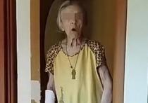 Почти два миллиона просмотров набрало в TikTok видео, где пожилая женщина, страдающая деменцией, находится одна в квартире