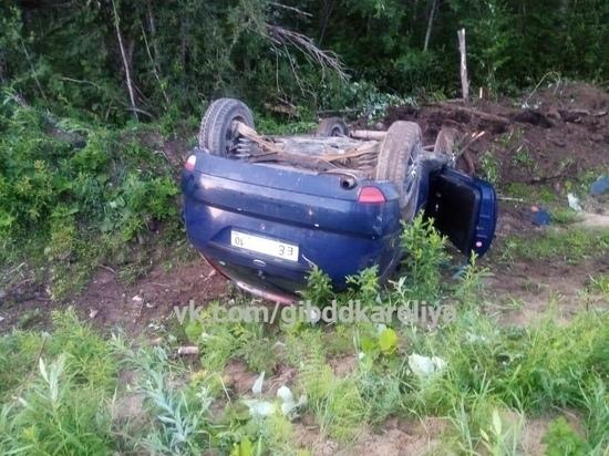Пьяный водитель в Карелии попал в ДТП, погиб пассажир