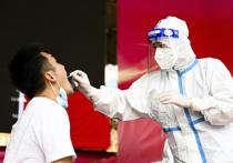 Китай сообщил о 76 новых случаях COVID-17 25 июля, что стало максимальным показателем с конца января на фоне всплеска местных инфекций в городе Нанкин на востоке страны, в то время как там начинается второй раунд массового тестирования для сдерживания вспышки коронавируса