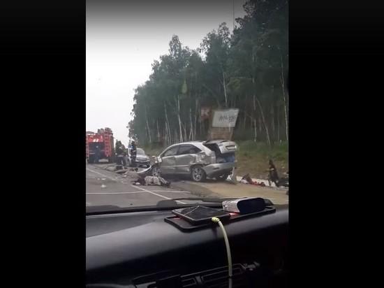 Водитель иномарки погиб в ДТП на трассе под Читой
