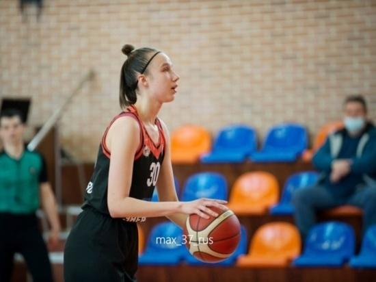 Ивановская баскетболистка включена в состав национальной команды на Еврочеллендж