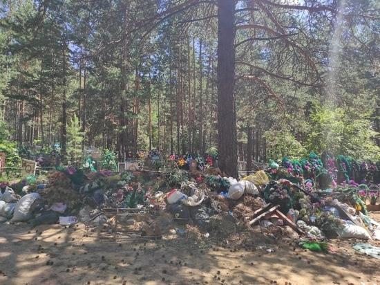 Противопожарный скос травы начался на читинских кладбищах