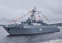 Главный военно-морской парад по случаю Дня ВМФ прошел в Санкт-Петербурге в воскресенье, 25 июля