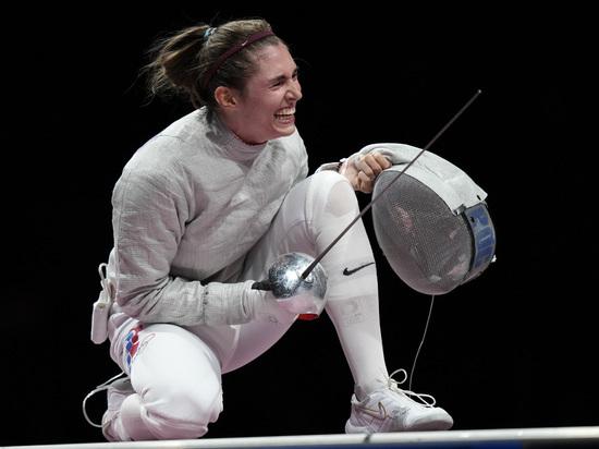 Саблистка Позднякова одолела Великую и завоевала золото на Олимпиаде