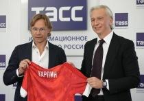 В Москве прошла пресс-конференция с участием нового главного тренера сборной России Валерия Карпина