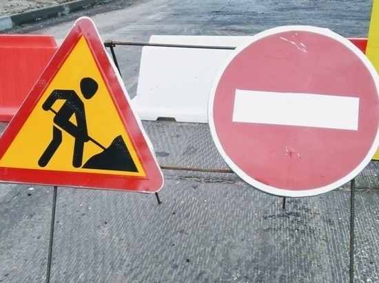 На кольце улицы Строителей в Йошкар-Оле ограничили движение
