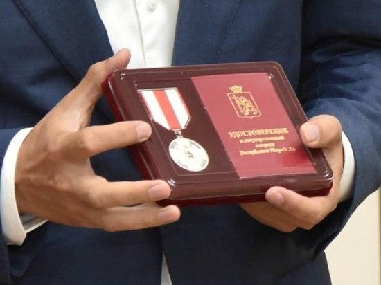 Известный в регионе фотограф Иван Речкин награжден медалью «За заслуги перед Марий Эл»