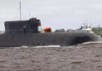 Одна из самых больших в мире подводных лодок К-329 «Белгород» вернулась после ходовых испытаний, которые начались 25 июня