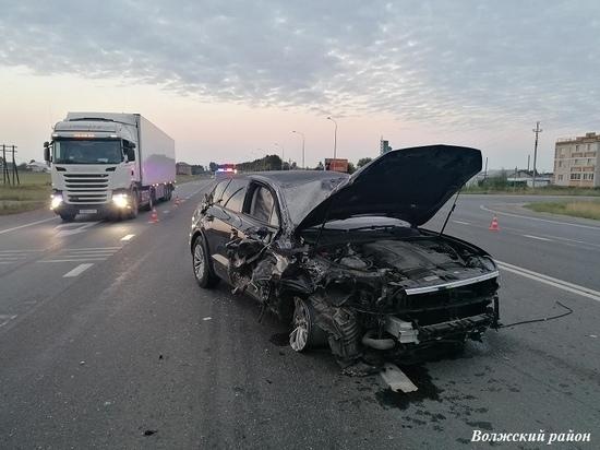 51-летний водитель пострадал в ДТП с КАМАЗом в Марий Эл
