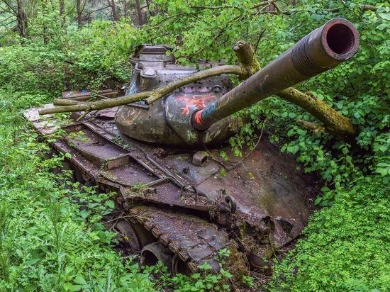 В Германии пенсионер хранил в подвале танк времен Второй мировой