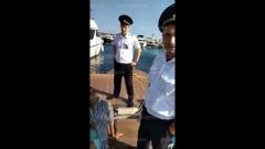 Жёсткие кадры задержания туристок полицией в районе морпорта Сочи