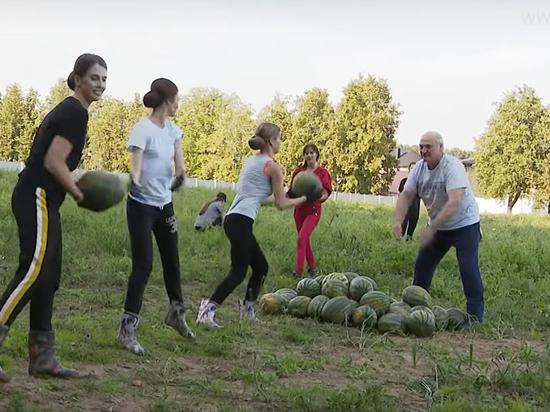 """Лукашенко назвал себя """"страшным приверженцем природы"""""""