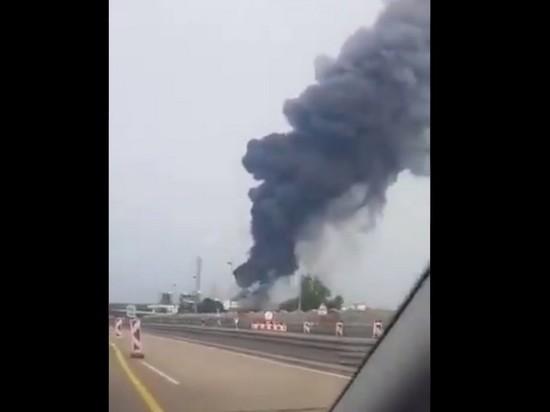 В Германии произошел взрыв на химическом заводе