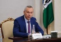 Глава МВД России Владимир Колокольцев встретился с губернатором Новосибирской области