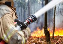 Краевые пожарные подразделения работают в режиме повышенной готовности