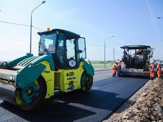 Под Волгоградом к концу сентября завершат ремонт 17 км трассы