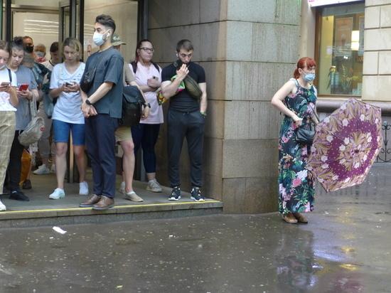 Гидромет прогнозирует дожди в центре России до конца месяца