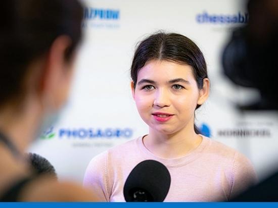 Шахматистка Горячкина из ЯНАО вышла в полуфинал Кубка мира
