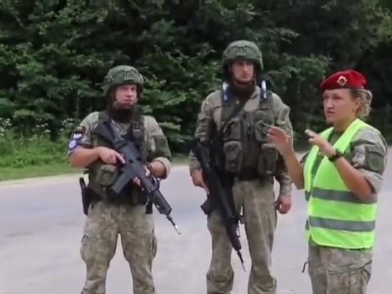 ВС Литвы провели учения на территории Украины