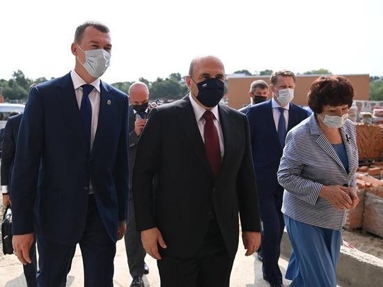 О выделении средств на окончание строительства договорились Михаил Мишустин и Михаил Дегтярев