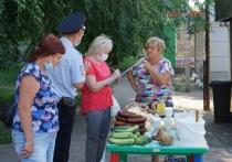 В Тамбове на улице Сенько проверили организацию уличной торговли