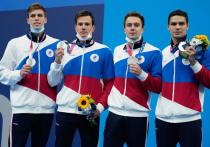 Мужская сборная России по плаванию финишировала второй на дистанции 4 по 200 м вольным стилем