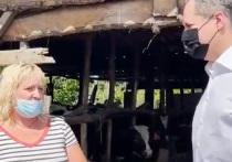 Мама троих детей в Ракитянском районе воспользовалась программой соцконтракта и купила на полученные от государства деньги коров