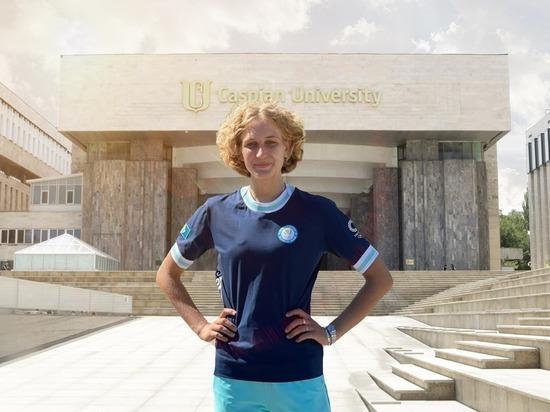 Олимпиада 2020. Студентка Caspian University Кристина Овчинникова: «Я планирую прыгать очень высоко»