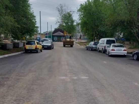 Участок улицы Зеленой открыли для движения авто в Благовещенске