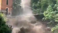 В Италии проливные дожди вызвали оползни и наводнения: кадры бедствия