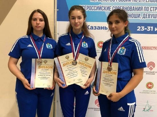 «Серебро» на первенстве России завоевали девушки-стрелки из Ноябрьска