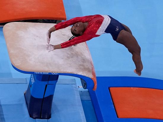 Симона Байлз, звезда мировой спортивной гимнастики из США, не выступит и в личном многоборье Олимпийских игр