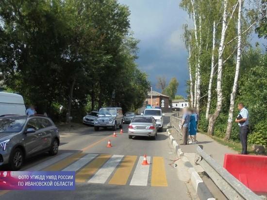 За сутки в Ивановской области трое пешеходов получили травмы в ДТП