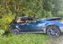 Водитель Mitsubishi разбился насмерть после столкновения с большегрузом в Томском районе