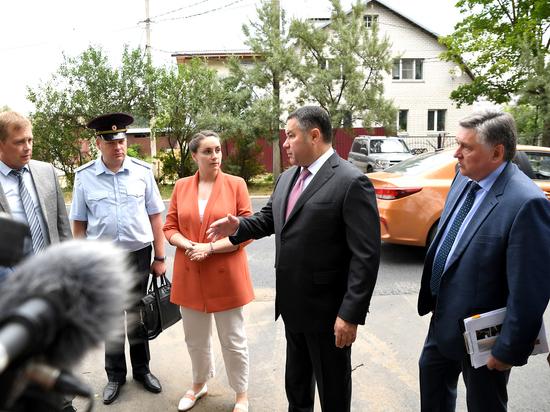 Игорь Руденя проверил, как в Твери ремонтируют дороги