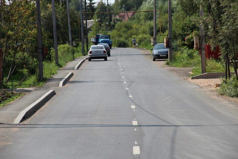 За 6,5 млн рублей отремонтировали улицу Трохина в Пскове, фото-3