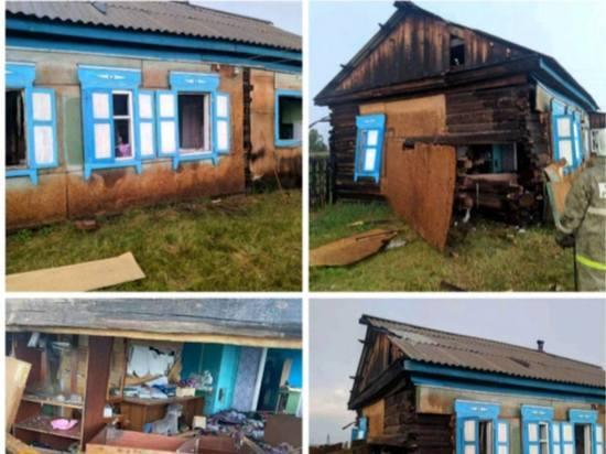 В Тункинском районе Бурятии шаровая молния разрушила жилой дом