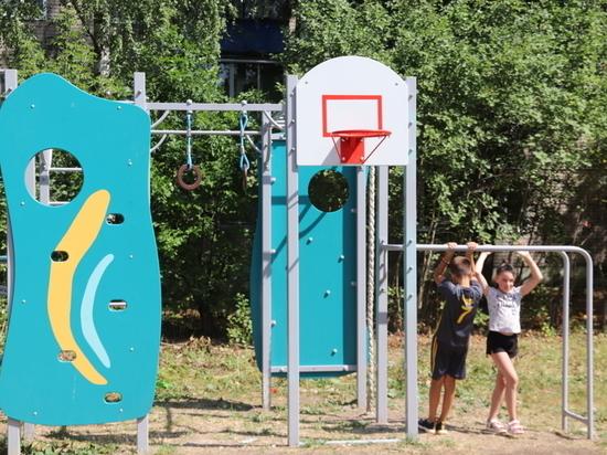Еще одна детская площадка в Иванове появилась благодаря активистам ТОСа