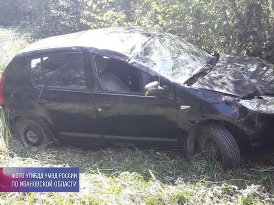 В Ивановской области водитель-пенсионер отправил в больницу двух пассажиров