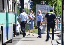 Сегодня в городе представители администрации и ГИБДД вышли на очередную проверку, чтобы выявить нарушителей масочного режима в общественном транспорте