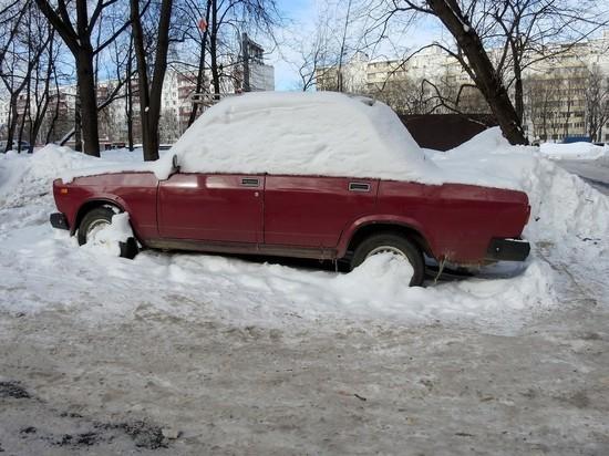 В Магаданской области в разгар лета выпал снег